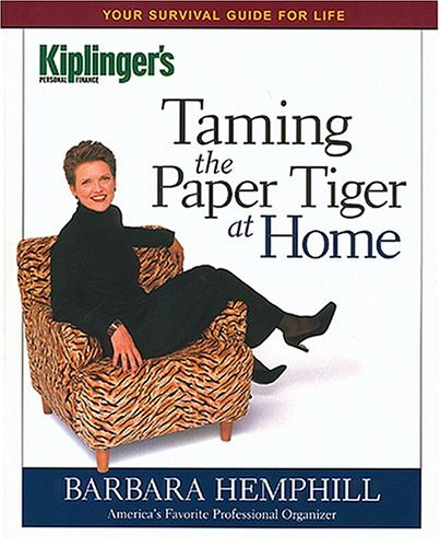 Taming the Paper Tiger at Home (Kiplinger's Personal Finance)