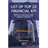 List of Top 20 Financial KPI: Examples of the Most Popular Key Performance Indicators Defined by Categories