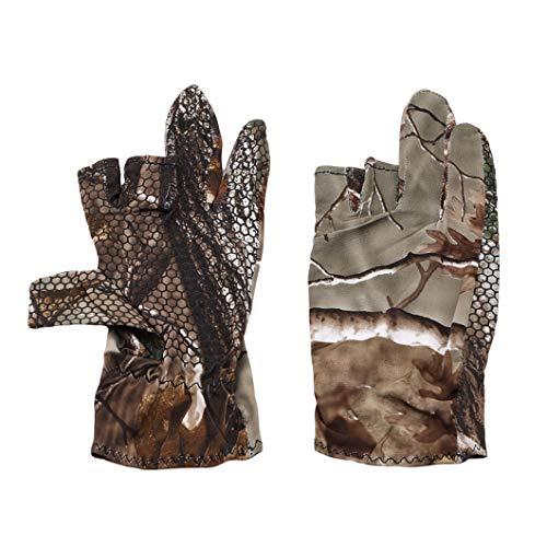 DeliV Schutz Angeln Fingerlose Handschuhe Sun Handschuhe Männer Frauen für Kajak, Wandern, Paddeln, Fahren, Kanufahren, Rudern, 1