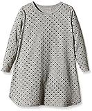 NAME IT Baby-Mädchen Nachthemd NITNIGHTGOWN M G NOOS, Gr. 92, Mehrfarbig (Grey Melange)