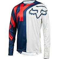 Fox Demo LS Preme Jersey, Blue/Red, tamaño M