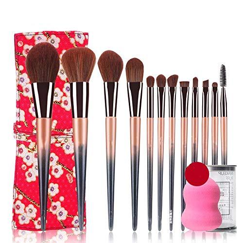 Beauty Makeup Brush Set Komplette Einsteiger-Makeup-Tools Lidschattenpinsel erröten Puderpinsel