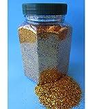 Glitter Glitterstaub Farben Gold pro Dose 350g