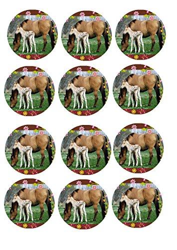 Muffin Aufleger Pferde 04