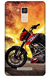 iessential bike Designer Printed Back Case Cover for Asus ZenFone 3 Max