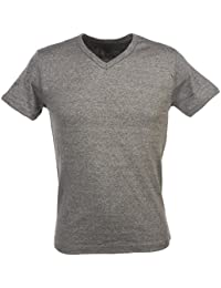 Crossby - Fit d grey mel mc tee - Tee shirt manches courtes