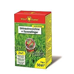 WOLF-Garten - 2-in-1: Unkrautvernichter plus Rasendünger SQ 50; 3840710