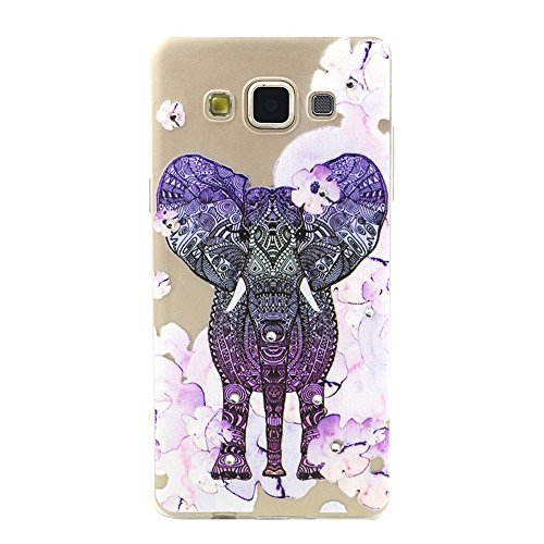 Skitic Coque Bling Strass Cristal 3D Relief Printing Diamond Housse Cover for iPhone 6 / iPhone 6S, Ultra Mince Light Housse de Protection Case Coque Etui Cover Flexible Soft TPU Silicone Clair Transp Style 6