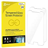 S6 Protection Écran, JETech 2-Pack Protection en Verre trempé écran protecteur Film ultra résistant Glass Screen Protector pour Samsung Galaxy S6 - 0862