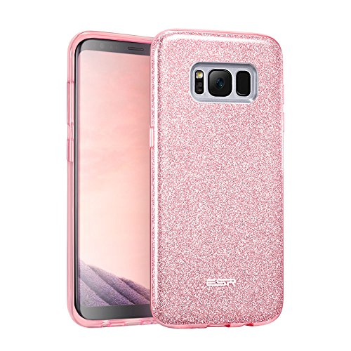 Cover Samsung S8, ESR Custodia con Glitters/Brillatini, Motivo Bling Bling in TPU [Morbida e Elastica], Luminosa Brillante Luccicante Case per Samsung Galaxy S8 (2017)