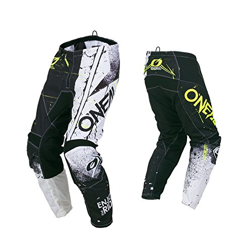 O\'Neal Element Shred Motocross Hose MX Motorrad Downhill MTB Mountain Bike Cross Enduro, 010E-Adult, Farbe Schwarz, Größe 42