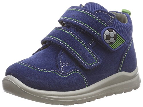 Superfit Baby Jungen Mel Sneaker, Blau (Blau/Grün 81), 24 EU