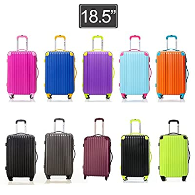Travelhouse Cabin Approved Hard Suitcase Hard shell Lightweight Travel Luggage Suitcase- 4 Wheel Spinner Trolley Bag