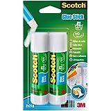 Scotch 6242C - Barra adhesiva de 21 g, transparente