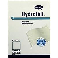 HYDROTUELL hydroaktive Salbenkompressen 5x5 cm 10 St Kompressen preisvergleich bei billige-tabletten.eu