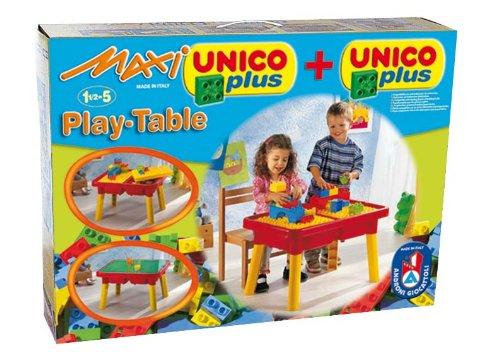 COSTRUZIONE UnicoMaxi Tavolo Multigioco 31pz 8805