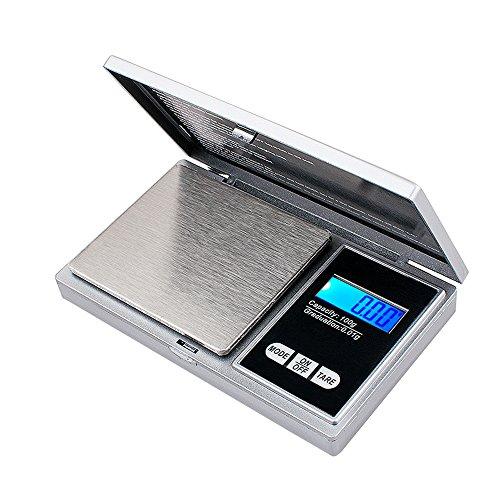 Denshine 100g x 0.01g Taschenwaage Digitalwaage Feinwaage Juwelierwaage Münzwaage Scale