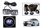 #7: Speedwav Stick On Car Door Ghost/Projector/Shadow LED Light-Hyundai Accent
