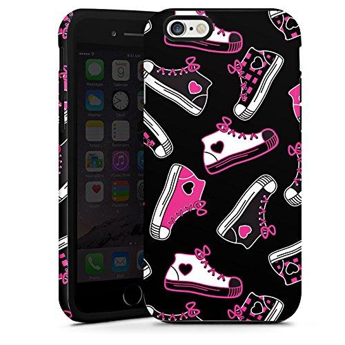 Apple iPhone 5s Housse Étui Protection Coque Baskets Années 90 90s Cas Tough terne