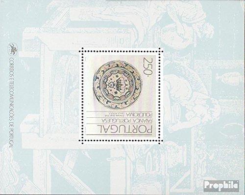 Portugal Block69 (kompl.Ausg.) 1990 Fayencen (Briefmarken für Sammler)