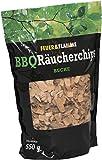 3x BBQ Räucherchips BUCHE (Vorratspack) - ausgewogenes, hochwertiges Raucharoma für alle Fleisch- und Fischsorten - ideal für den Einsatz im Smoker & Grill - Wood-Chips für die Räucherbox - Räucherspäne