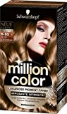 Million Color Intensiv-Pigment-Farbe 6-65 Helles Schokobraun Stufe 3, 3er Pack (3 x 126 ml)