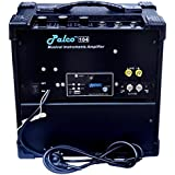 PALCO 104 Guitar Amplifier with USB and FM, Black