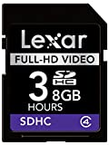 Lexar Professional Full-HD Video 8GB Class 6 SDHC Flash Video Memory Card