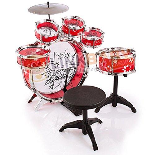 spielzeug-schlagzeug-trommel-musikinstrument-mit-stuhl-kinder-trommel-neu-kp9242