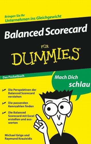 Descargar Epub Gratis Balanced Scorecard für Dummies