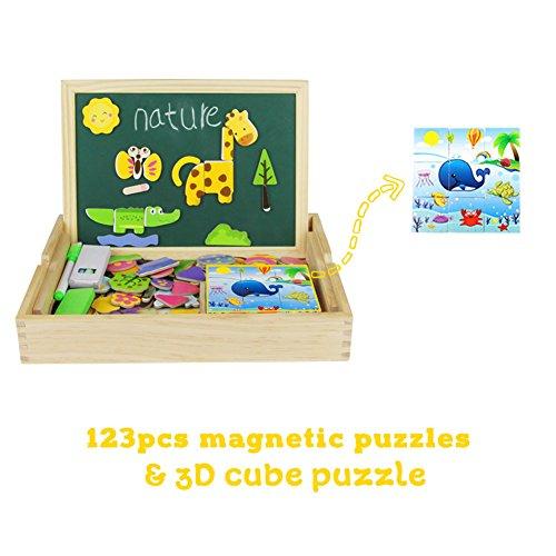 Planche à dessin en bois Type 2- Cube Puzzle