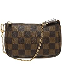 Louis Vuitton - Bolso de asas para mujer marrón marrón