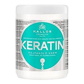 Kallos Masque pour Cheveux Keratin 1 L