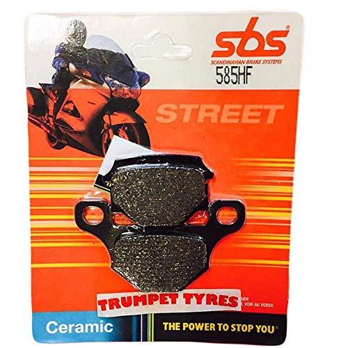 Pneumatici per Tromba: Race & Moto Parti Mash Scrambler 125 / Seventy 125 13 14 15 16 17 SBS Performance Anteriore in Ceramica Set pastiglie Freno Originale qualità OE 585HF