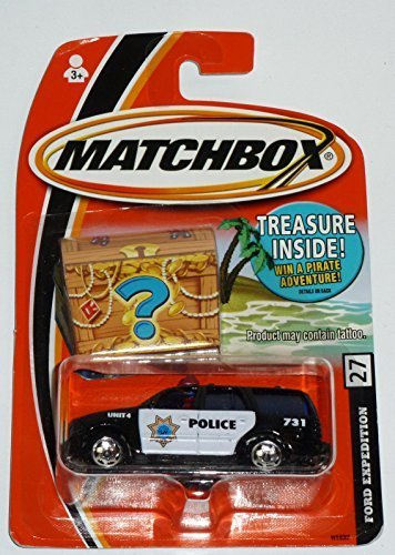 matchbox-treasure-police-ford-expedition-27-164-scale-premium-collectable-die-cast-vehicle-car-hard-