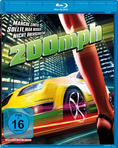 200 MPH - Tempo ohne Limit (Blu-ray) Das Auto Horror Film