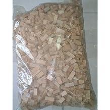Bolsa 1 Kg Piedra cerámica irregular rosada para maquetas. 1202961
