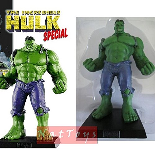 NEW Marvel Special Rare Lead Figure The Hulk Supereroi Eaglemoss Collection 3D