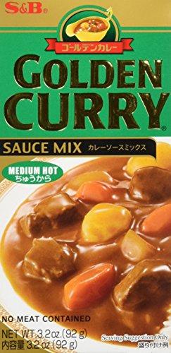S  &  B Würzpaste golden Curry medium, 12er Pack (12 x 100 g) (Goldener Curry Mix)