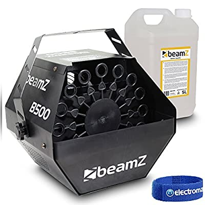 beamz B500 Bubble Machine and 5 Litre Bottle of Fluid Party Pack
