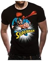 Loud Distribution Superman - Solar Burn Men's T-Shirt