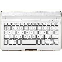 Samsung EJ-CT700UWE Bluetooth QWERTY Oro, Color blanco teclado para móvil - teclados para móviles (Oro, Color blanco, Estándar, Samsung, Galaxy Tab S 8.4, QWERTY, Android 4.4)