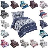 Buymax Bettwäsche Set 135x200 cm, Kopfkissenbezug 80x80 cm 2 teilig Sommer Bettwäsche Bettgarnitur Deckenbezug mit Reißverschluss Oeko-Tex