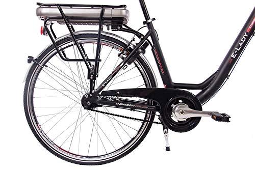 E-Bike Trekking und City Bike für Damen – E-Lady schwarz Bild 4*