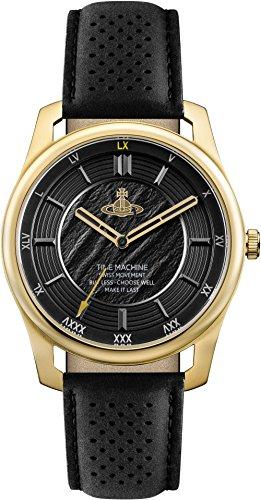 Vivienne Westwood VV185GDBK Reloj de Hombres