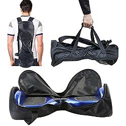 E T Bolso de Hoverboard Mochila de Scooter Self Blancing Impermeable de 6.5' Oxforad Material con el Lado Interno de la Guarnición Fuerte Bueno para Swegway, ioHawk ect Hoverboard