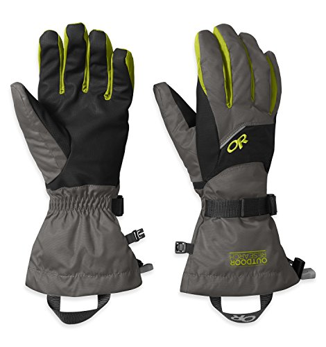 mens-adrenaline-gloves-173-charcoal-black-lemongrass-l