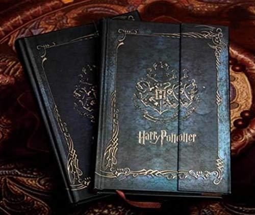 Bureze Vintage Harry Potter Notizbuch Tagebuch mit Kalender 2017-2018-2019 Retro Hardcover Tagesplaner Planer Buch Geschenk (Vintage Harry-potter-bücher)