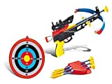 GBL® Set de Tiro con Arco de Juguete para Niños Arco Flecha y Diana Juegos de Exterior