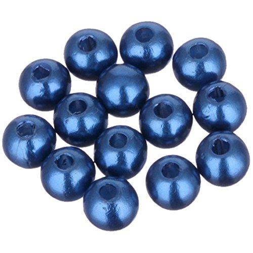 TOOGOO(R) 200 Stueck 5MM Helle Birnen Distanzscheiben lose Perlen Schmucksachen Herstellung koenigsblau